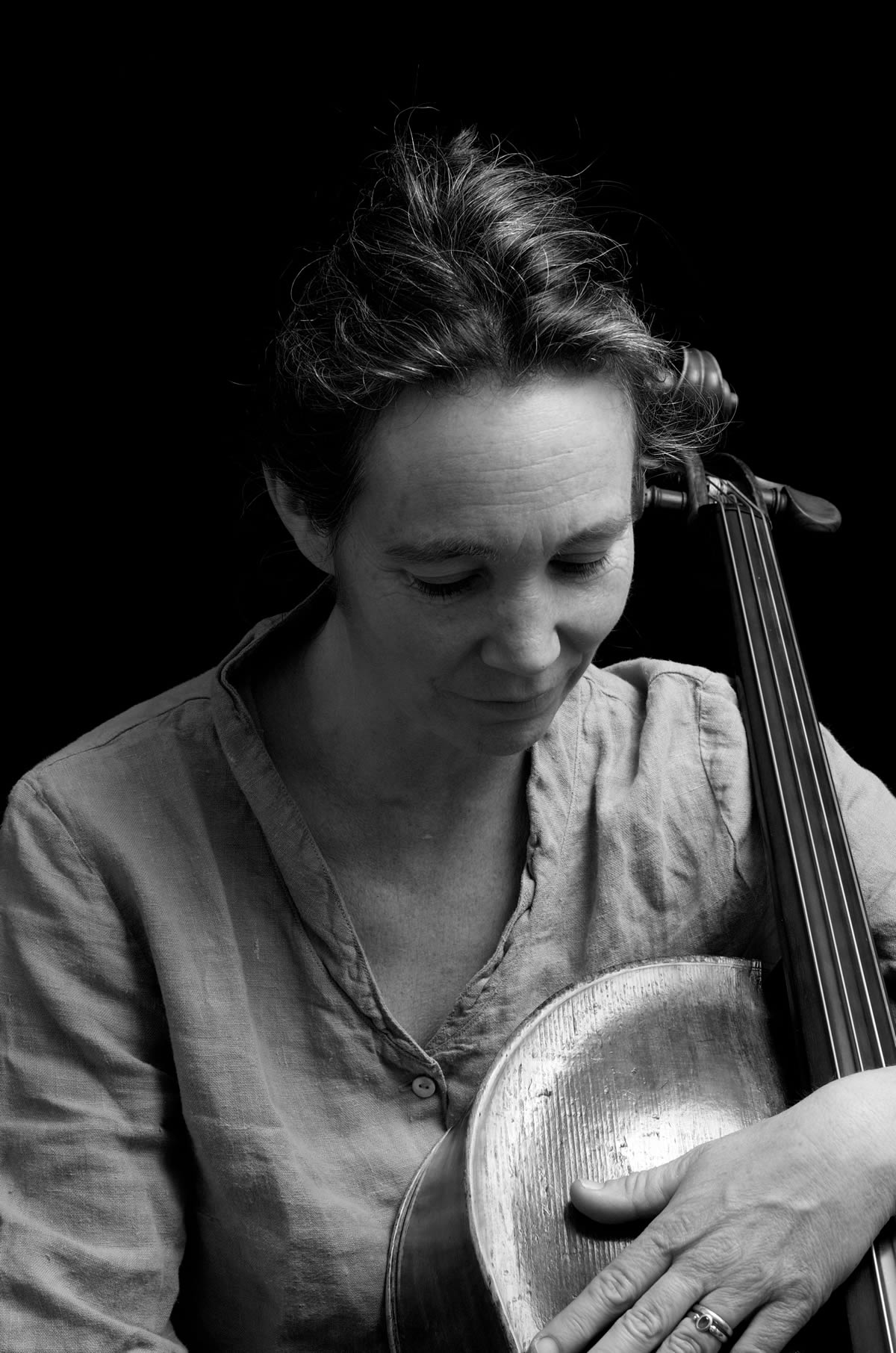 Ruth Phillips with cello