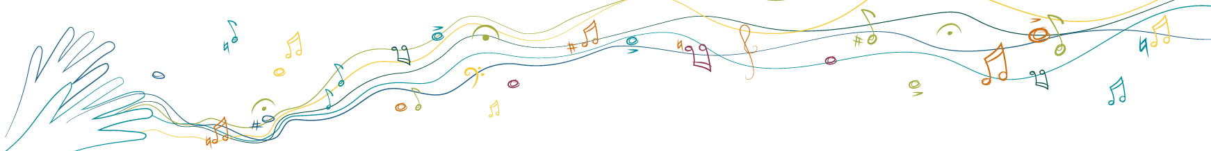 Improvisation line drawing banner