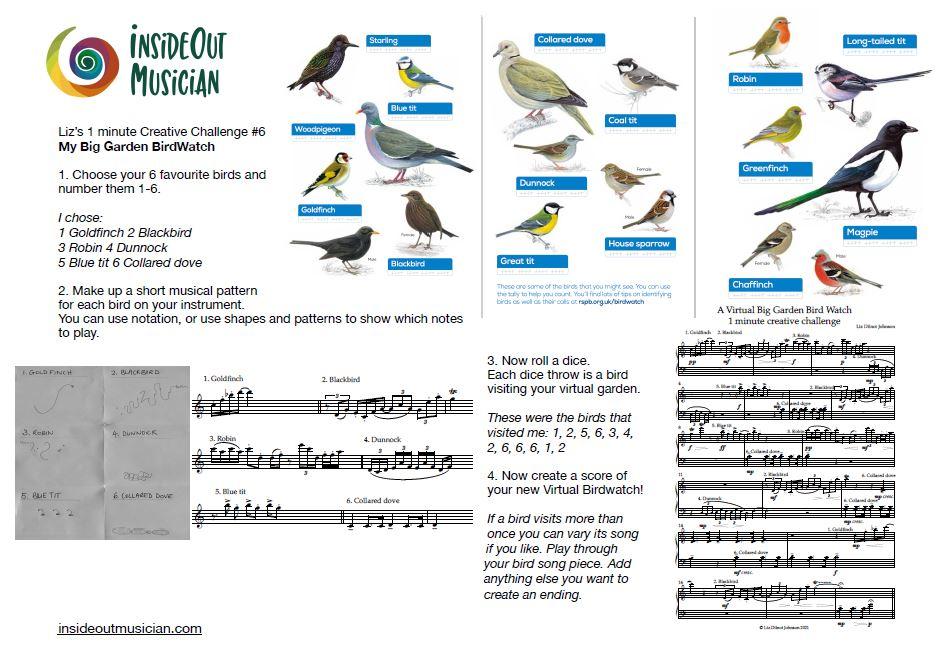 My Big Garden Birdwatch creative challenge 6